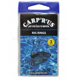 Carp'R'Us horogkarika Rig Rings – 3mm