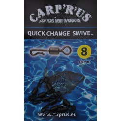 Carp'R'Us forgókapocs Quick Change Swivel